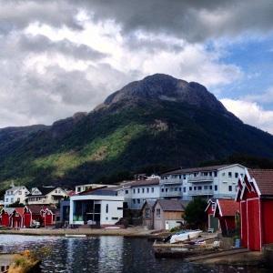 Sandeid, in Vindafjord kommune